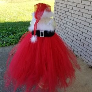 Holiday Christmas Tulle Dress